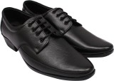 Vaova Genuine Leather Lace Up (Black)