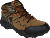 Earton Brown-606 Running Shoes (Brown)