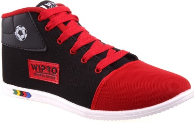 Wepro C7 Black Red Casual Shoes