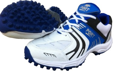 Port National Star Blue Synthetic Cricket Shoes
