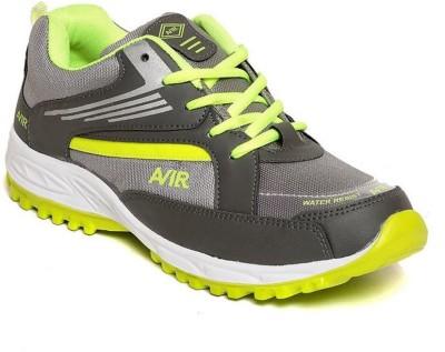 Shoe Island Sturdy Grey ,n, Green Sport Shoes Training & Gym Shoes