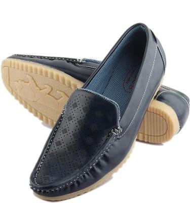 Tashi Stylish Navy Blue Loafers