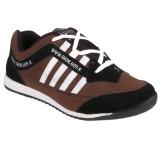 Shox Running Shoes (Black, Brown)