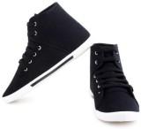 Comfort Cotton Lace Up (Black)