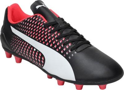 Puma III AG Football Shoes(Black)