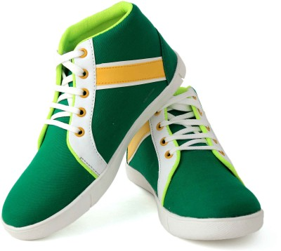 Felando 409-Green-4 Canvas Shoes