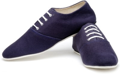 Funk Kore Navy Blue Canvas Shoes