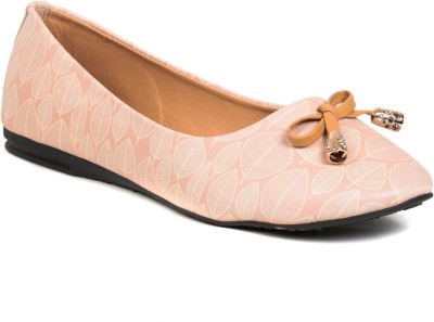 Lovely Chick Lovely Chick Beige Ballerinas CP-LEAF Bellies