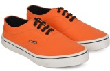 Wega Life ASTER Sneakers (Orange, Black)