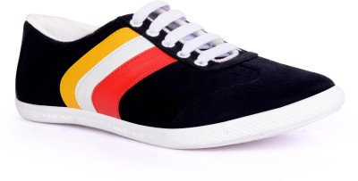 Sam Stefy Black Casual Shoes