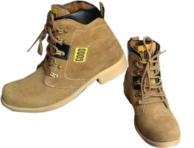 Trackland Beige Boots