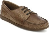 Arden Quody Derby Casual Shoes (Tan)