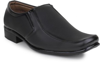 Digni DIGNI Men's Black Synthetic Leather Formal Shoe Slip On Shoes