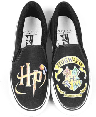 F-Gali The Harry Potter Slip-on Shoes Canvas Shoes