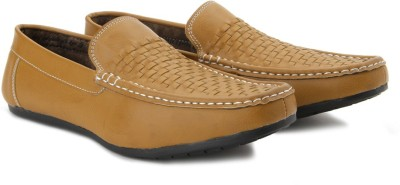 Andrew Scott Crusoe Loafers(Tan)
