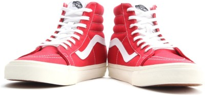 VANS Sk8-Hi Reissue Men High Ankle Sneakers(Red)
