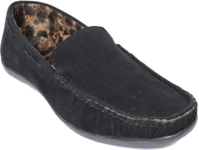 Kamil Black Loafers