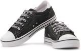 Sparx Canvas Sneakers (White, Black)