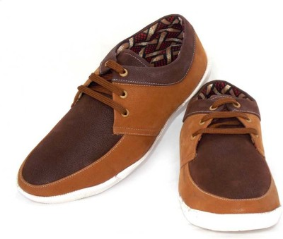ADX Classic Brown Casual Shoes
