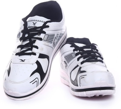 Aerostone ARS-TAP-9-WHITE-BLACK Running Shoes