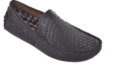 Trendystuff4u Black Loafers-030 Loafers