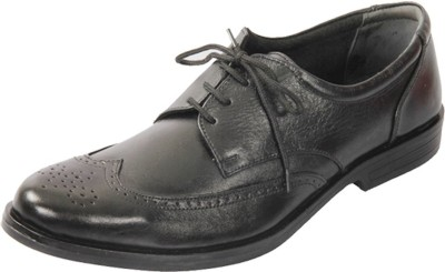 HIDEKRAFT Genuine Leather Formal Shoes Lace Up