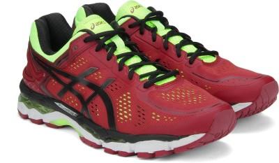 Asics GEL-KAYANO 22 Running Shoes(Red) at flipkart