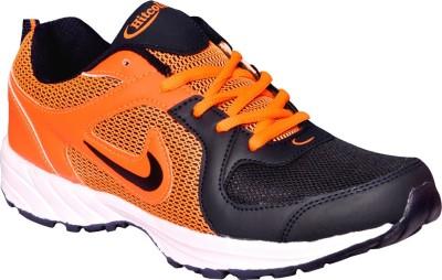Hitcolus Orange & Navy Blue Running Shoes