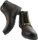 Elvace 5022 Boots (Brown)