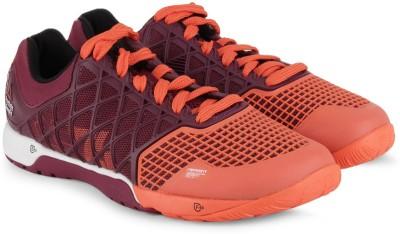 Reebok R Crossfit Nano 4.0 Training Shoes(Orange, Maroon)