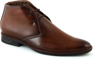 24 Casuals Greek Tan Lace Up Shoes