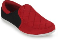 Scantron SCTR_142-T-RED Loafers(Red, Black)