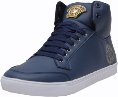 West Code Men's Synthetic Leather Casual Shoes 7091-Blue-8 Casuals