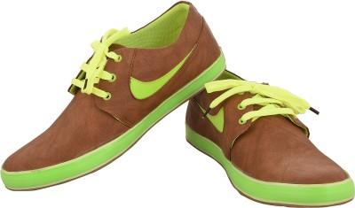 Kali Re1048Brown&Green Sneakers