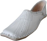 Kalra Creations Ethnic Shoes (White)