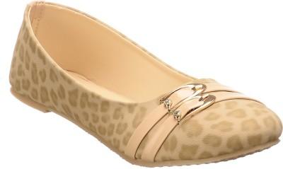 Calliebrown Callie brown trendy stylish leopardskin khaki ballerinas Bellies
