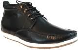 Pietro Carlini Black Casuals Shoes (Blac...