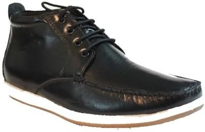 Pietro Carlini Black Casuals Shoes