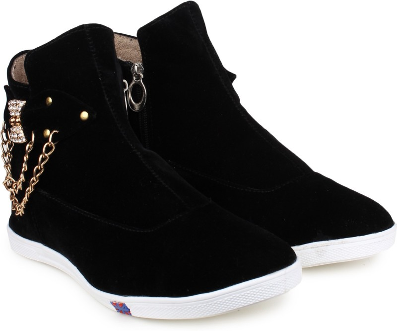 London Steps Boots(Black)