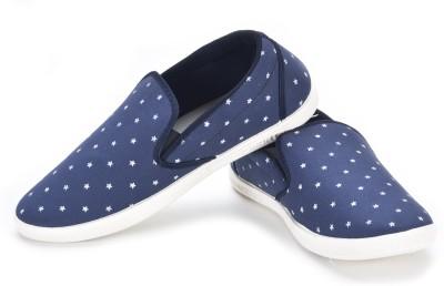 Larson Men's Blue Loafers
