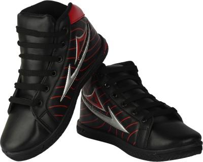 Earton Black-168 Casual Shoes