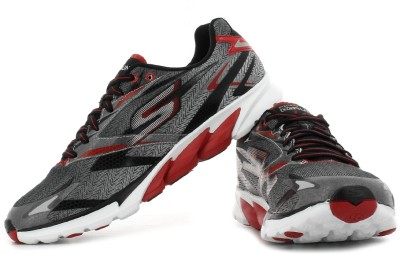 Skechers Go Run 4 Running Shoes(Black, Red)