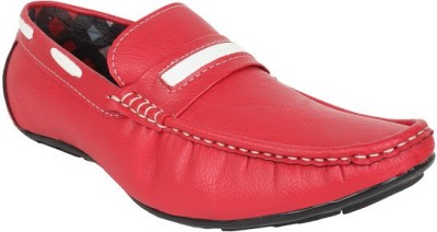 Firemark 202 Red Loafers