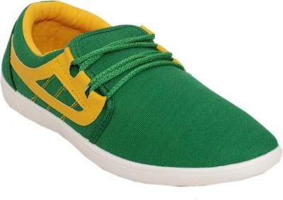 Superhuman 12 Sh Rider-Green Canvas Shoes