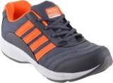Hytech Grey Orange Running Shoes, Basket...