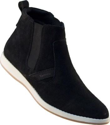 Tanny Shoes Leather Casual Boots
