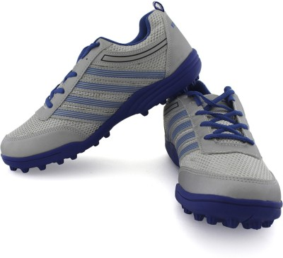 Vector X Drive-II Cricket Shoes(Grey, Blue)