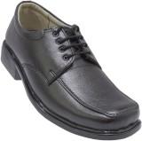 GS Collection Black Lace Men Shoes