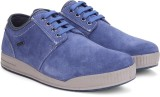 Woodland Leather Sneakers (Blue)