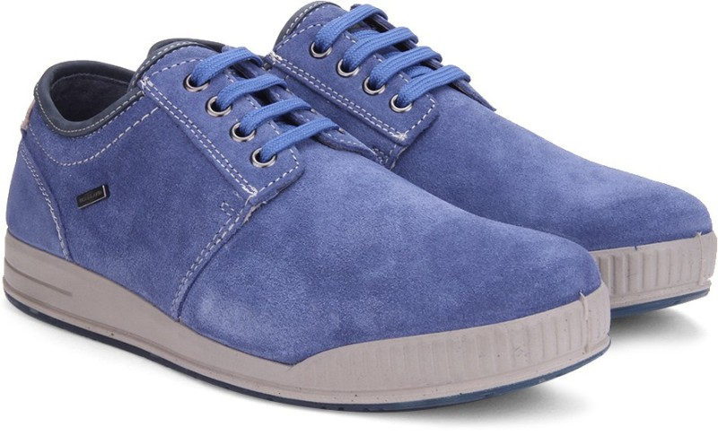 Woodland Leather SneakersBlue